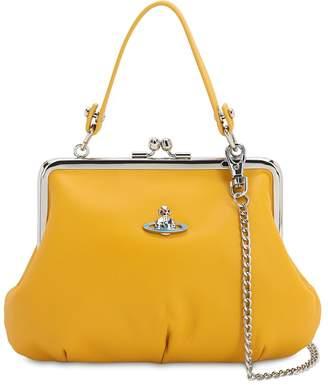Vivienne Westwood EMMA SOFT LEATHER TOP HANDLE BAG