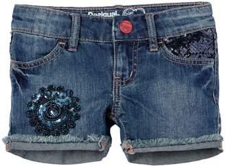 Desigual Girl's DENIM_LUXE_41D3104 Shorts