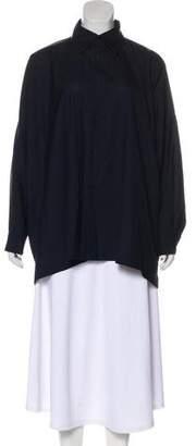 eskandar Wool Oversize Top