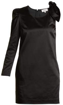 Isa Arfen Asymmetric duchess-satin dress