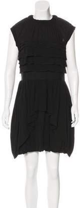 Nina Ricci Silk Mini Dress
