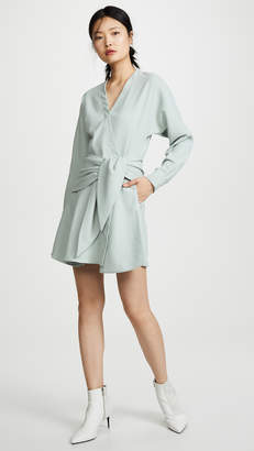 Tibi Short Wrap Dress