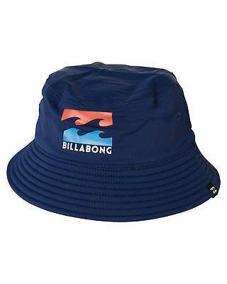 a48b2833c7803 where can i buy billabong big john hat stealth a70db 675d3  ireland at ebay  billabong new boys tots boys groms beach day hat lace nylon blue 10b26