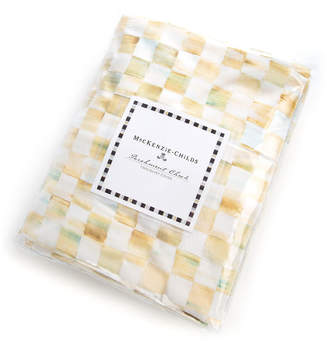 Mackenzie Childs Twin Parchment Check Duvet Cover