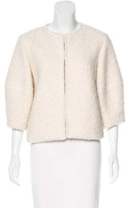 Alice + Olivia Textured Long Sleeve Jacket