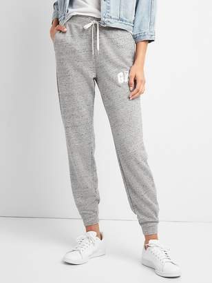 Gap Metallic Logo Joggers in French Terry