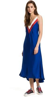 Tommy Hilfiger Colorblock Racerback Slip Dress