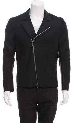 Jeffrey Rüdes Wool & Silk-Blend Biker Jacket w/ Tags