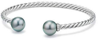 David Yurman Solari 9mm Silver Open Bead Bangle Bracelet
