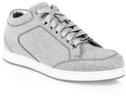 Jimmy Choo Miami Glitter Sneakers
