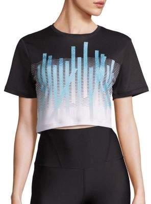 Active Midriff Sensia Cropped T-Shirt