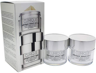 Clinique 2 Pc Set Smart Day & Night Moisturizer Set