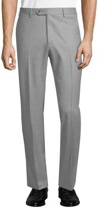 Lubiam Men's Wool Dress Pants