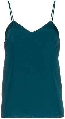Tibi v-neck silk cami