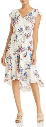 Elie Tahari Ryder Floral Faux-Wrap Dress - 100% Exclusive