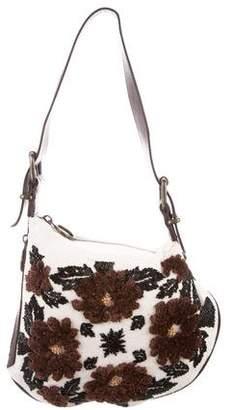 Fendi Embellished Oyster Bag