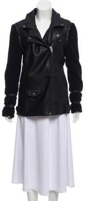 Blank NYC Leather Moto Jacket