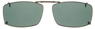 SOLAR SHIELD Solar Shield Unisex Gunmetal Polarized Solarshield Clipon Sunglasses Sd18