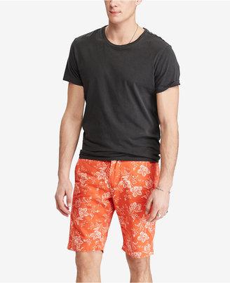 Denim & Supply Ralph Lauren Men's Slim Fit Floral-Print Cotton Chino Shorts $69.50 thestylecure.com