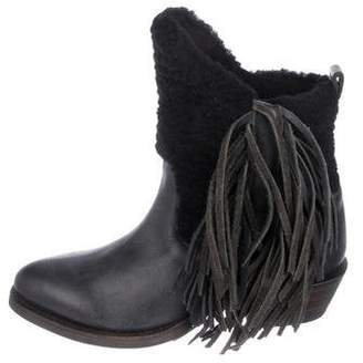 Australia Luxe Collective Fringe Ankle Boots