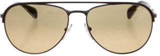 prada Prada Tinted Aviator Sunglasses