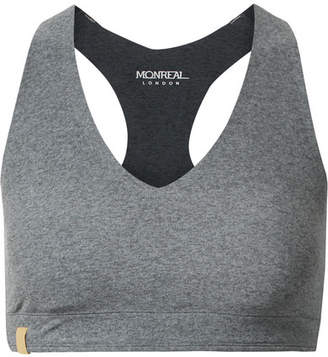 Monreal London Essential V Stretch Sports Bra - Gray