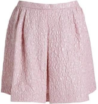 Giambattista Valli Pleated Mini Skirt