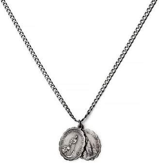 Miansai Saints Pendant Necklace in Sterling Silver