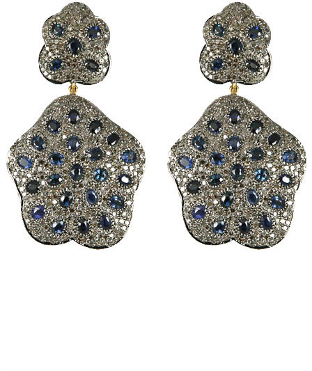 Hari Jewels Sapphire Earrings