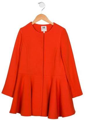 Milly Minis Girls Long Sleeve Coat