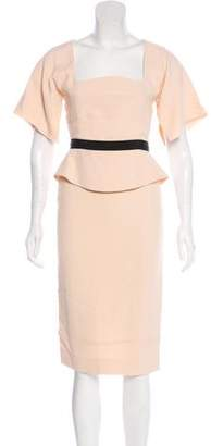 Antonio Berardi Midi Evening Dress