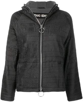 Ienki Ienki zipped hooded track jacket