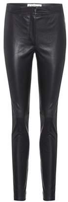 Loewe Skinny leather trousers