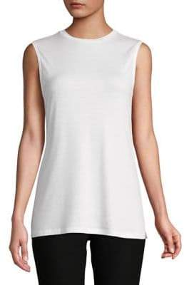 Eileen Fisher Sleeveless Crewneck Tank