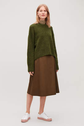 Cos OVERSIZED WOOL-BOUCLE JUMPER