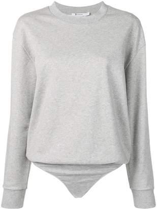 Alexander Wang sweater bodysuit