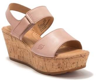 Børn Mae Platform Wedge Leather Sandal