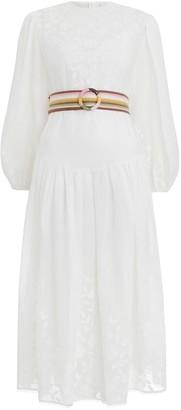 Zimmermann Zinnia Applique Long Dress