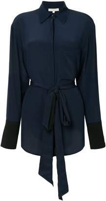 Sykes belted shirt dress