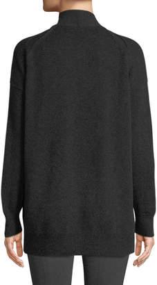 Vince Wool-Blend Drop-Shoulder Cardigan