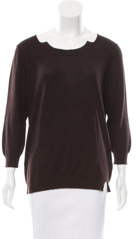 Bottega VenetaBottega Veneta Cashmere Distressed Sweater