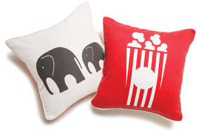 Boodalee Circus Throw Pillow