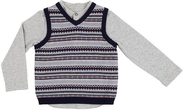 Kids Clothing Mini Club Brand 15 Mini Club Boys Long Sleeve Top