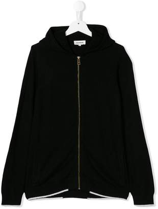 Zadig & Voltaire (ザディグ エ ヴォルテール) - Zadig & Voltaire Kids zipped hooded jacket