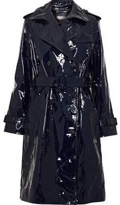 Diane von Furstenberg Patent-leather Trench Coat