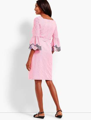 Talbots Embroidered Sleeve Shift