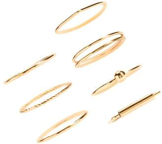 Forever 21 Midi Stackable Ring Set