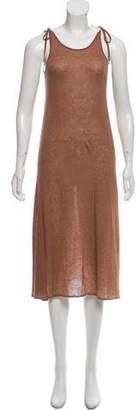 Roche Ryan Cashmere Rib Knit Dress
