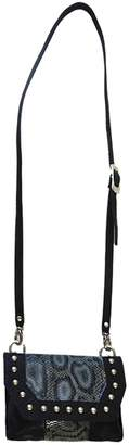 Leather Rock Snakeskin Crossbody Bag