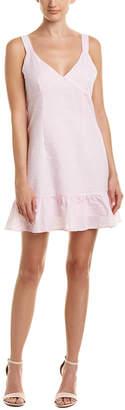 MinkPink Gables Seersucker Shift Dress